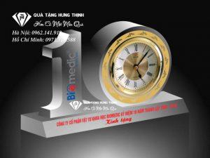 Bộ Số 10 Pha Lê Đồng Hồ 9Cm BS29