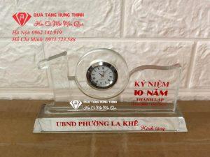 Bộ Số 10 Pha Lê Đồng Hồ 3.4Cm BS25
