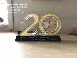 Bộ Số 20 Pha Lê Đồng Hồ 9Cm BS16
