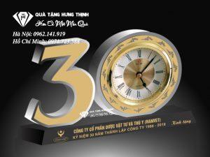 Bộ Số 30 Pha Lê Đồng Hồ 9cm BS11