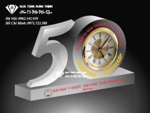 Bộ Số 50 Pha Lê Đồng Hồ 9Cm BS05