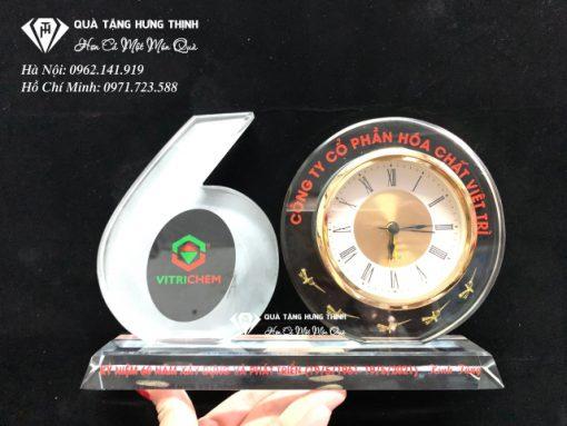 Bộ số kỷ niệm 60 năm đồng hồ 9cm