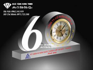 Bộ Số 60 Pha Lê Đồng Hồ 9Cm BS02