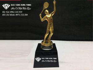 Cúp Người Chơi Tennis Mạ Vàng CT01