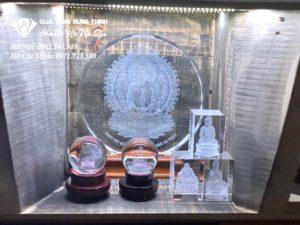 Pha Lê 3D Khắc Tượng Phật 3D26