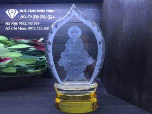 Pha Lê 3D Khắc Tượng Phật 3D25