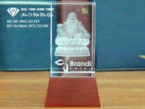 Pha Lê 3D Khắc Tượng Phật 3D24