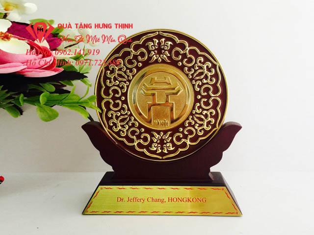 Kỷ niệm chương gỗ đồng Thăng Long Hà Nội