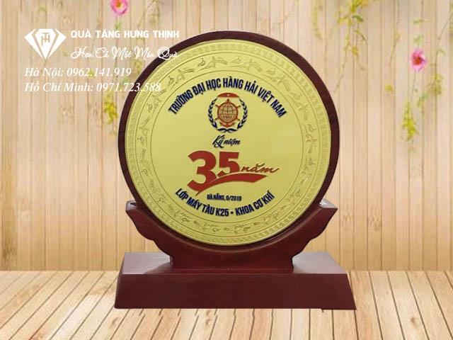 Kỷ niệm chương gỗ đồng 35 năm
