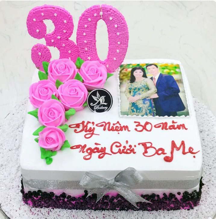 Kỷ niệm 30 năm ngày cưới cho bố mẹ