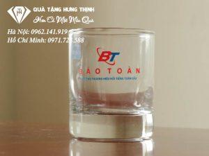 Cốc Thủy Tinh Giá Rẻ In Logo TT04