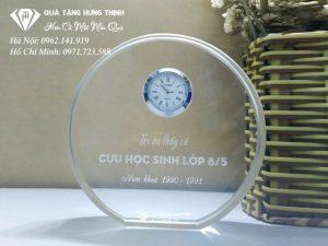 Đồng Hồ Pha Lê Để Bàn ĐP01