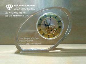 Đồng Hồ Pha Lê Cao Cấp ĐP13