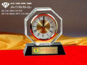 Đồng Hồ Pha Lê Để Bàn ĐP08