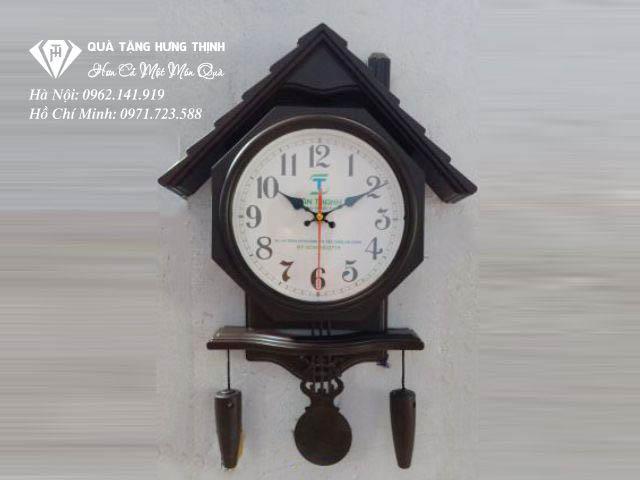 Đồng hồ ngôi nhà treo tường