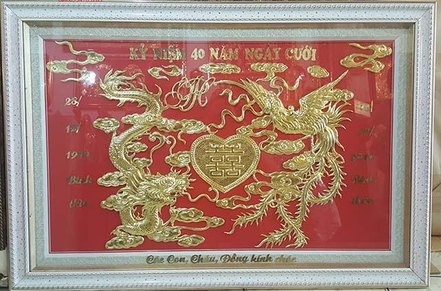 Khánh vàng 40 năm kỷ niệm ngày cưới