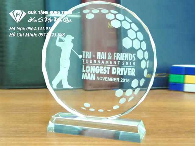 Kỷ niệm chương pha lê golf