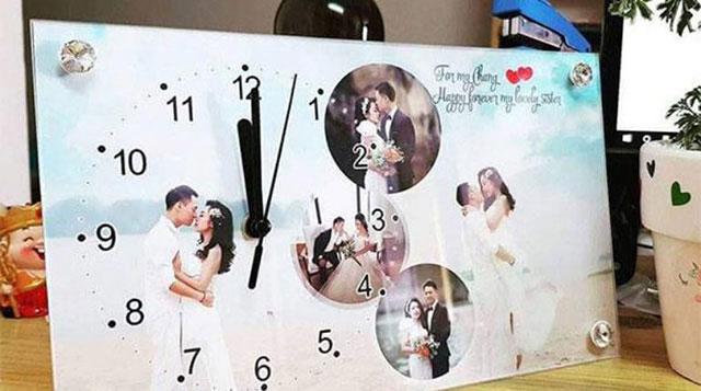 Đồng in ảnh kỷ niệm ngày cưới
