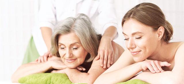Tặng mẹ chồng suất làm đẹp massage