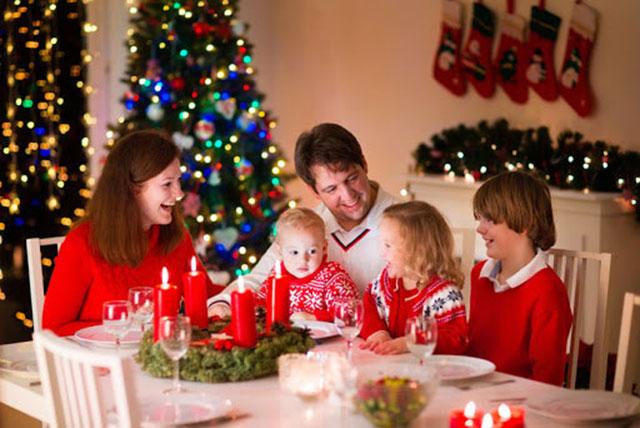 Đi chơi xa cùng gia đình nhân ngày giáng sinh