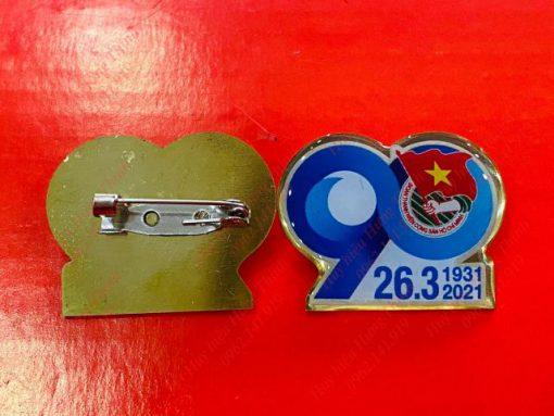 Ky hiệu đoàn kỷ niệm 90 năm ngày thành lập