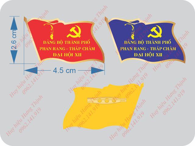 kích thước huy hiệu đảng chuẩn