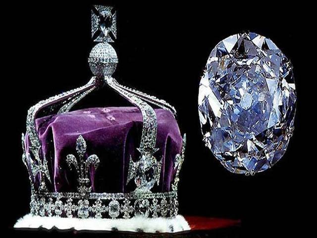 Koh-i-Noor được cho là viên kim cương đắt nhất thế giới nếu được định giá. Ảnh: Internet