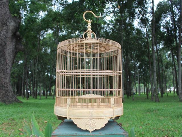 Lồng chim là món quà sinh nhật thỏa mãn thú vui tuổi già của bố. Ảnh: Internet