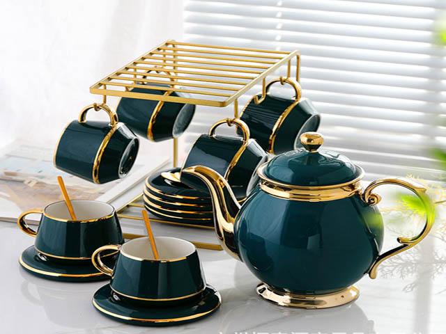 Thiết kế của bộ ấm trà phù hợp với nhiều phong cách khác nhau. Ảnh: Internet.