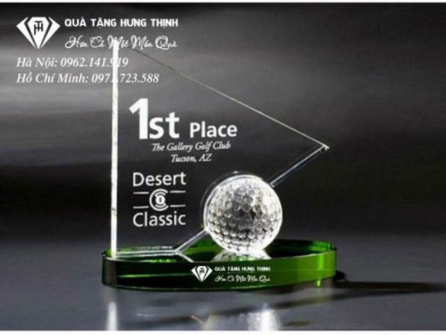 Cúp vinh danh môn golf mang nhiều ý nghĩa về tinh thần