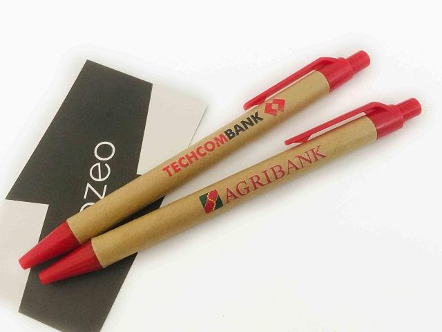 Mẫu bút bi in tên thương hiệu