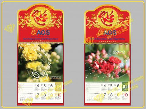 Lịch 52 tuần Hương Sắc Cỏ Hoa 1