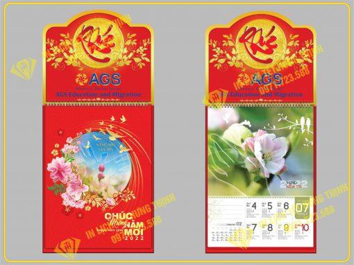 Lịch 52 tuần Hương Sắc Cỏ Hoa