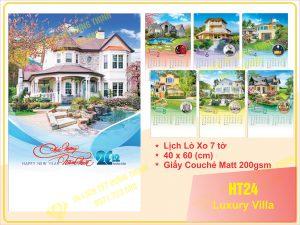Lịch Lò Xo 7 Tờ – Luxury Vila