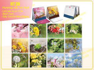 Lịch Chữ A – Hương sắc cỏ hoa